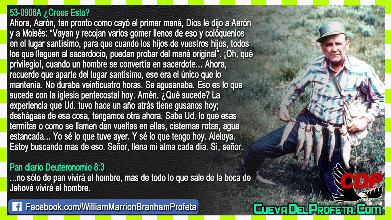 Señor llena mi alma cada día - William Branham en Español