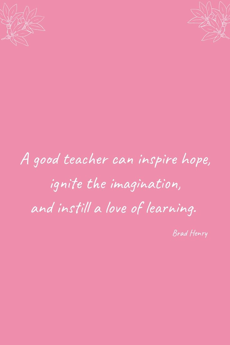 How To Get The Kids Excited About Going Back To School | A teacher can inspire hope...