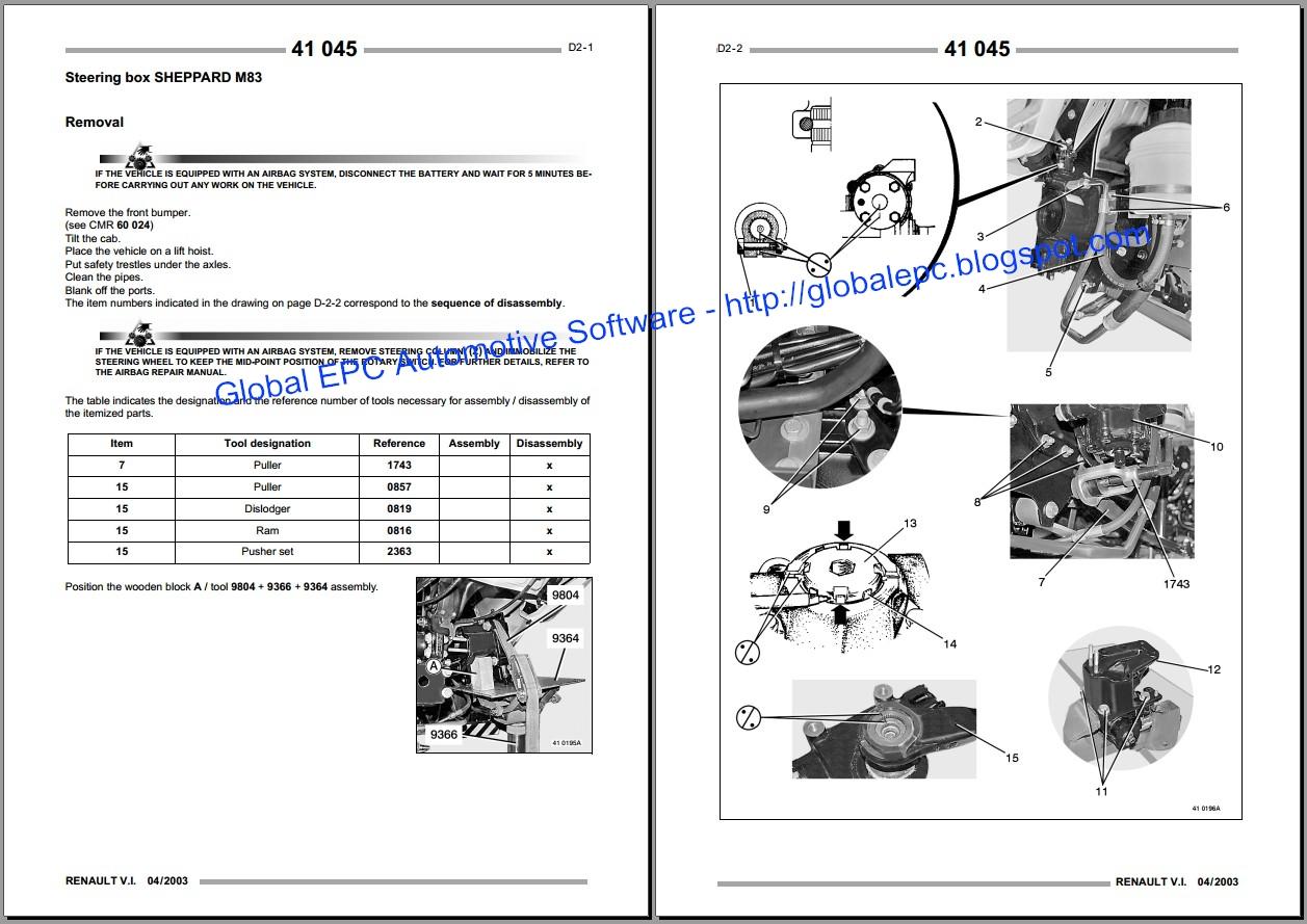 global epc automotive software renault midlum workshop service rh globalepc blogspot com Mack Renault Truck Parts 1985 Mack Midliner