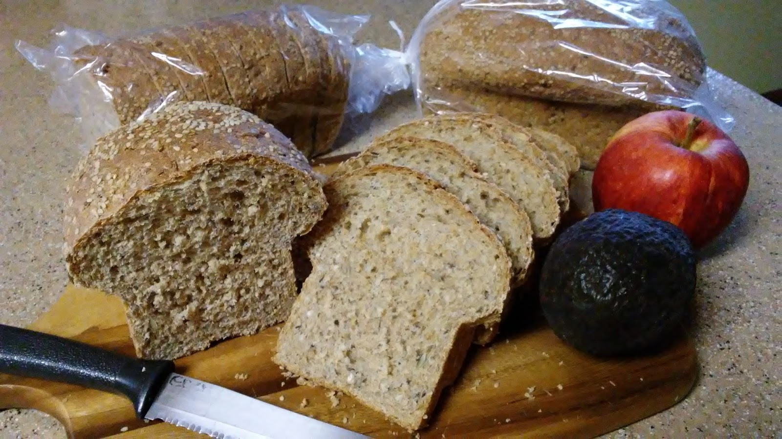 The ardent adventist sprouted wheat bread the loaves below were made with the cuisinart food processor this was so easy right from the processor to shaping loaves or putting it in the 1 loaf bread forumfinder Gallery
