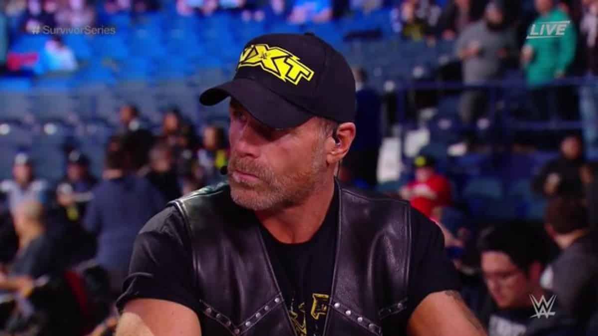 Shawn Michaels foi quem dirigiu a estreia do NXT 2.0