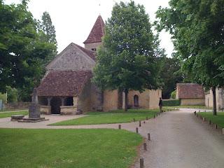 photo de l'église Sainte Anne à Nohant