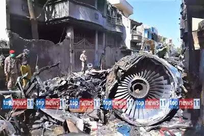World News Update (আন্তর্জাতিক সংবাদ)world news pakistan airliner crashed-39 -TopNews11.com