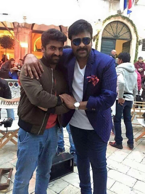 Megastar chiranjeevi with sekhar master from khaidi no 150 movie