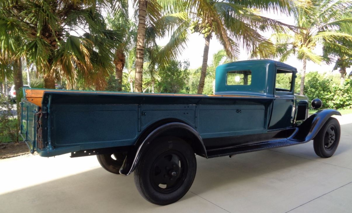 Just A Car Guy: 1931 Ford Model AA, 1 1/2 Ton Express Pickup Truck ...