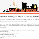 Cuestionario inicial para participantes del proyecto