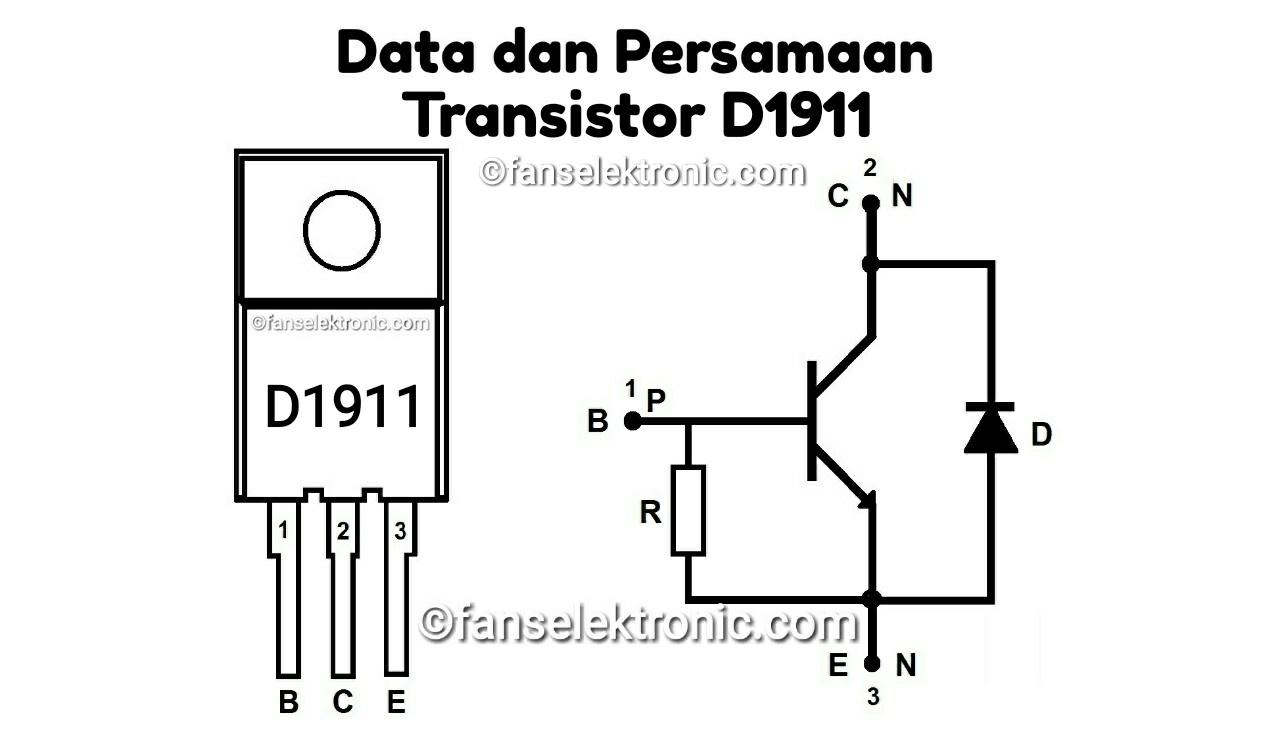 Persamaan Transistor D1911