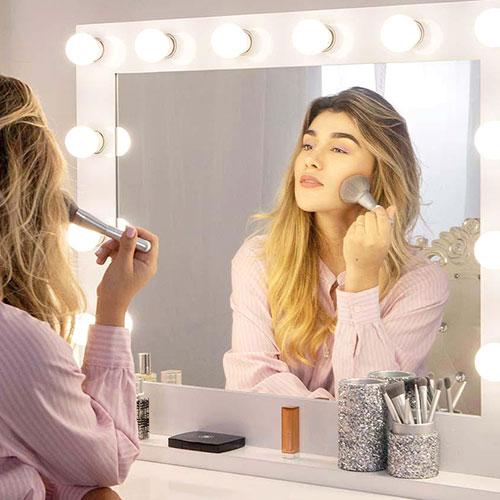 El mejor espejo para un tocador de maquillaje