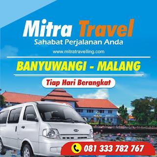HARGA TIKET TRAVEL BANYUWANGI – MALANG (PP)