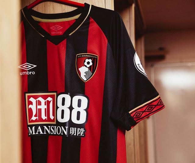 b109661935c AFC Bournemouth 2018 19 Umbro home kit