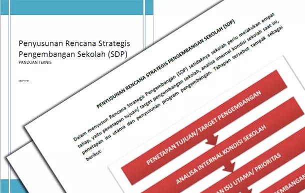 Panduan Penyusunan dan Format Rencana Strategis Pengembangan Sekolah - SDP (School Development Plan)