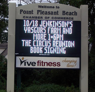 The Circus reunion & book release show 10/18/2014 at Jenkinson's