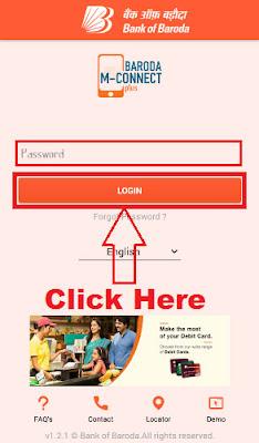 how to link aadhaar with bank of baroda account online