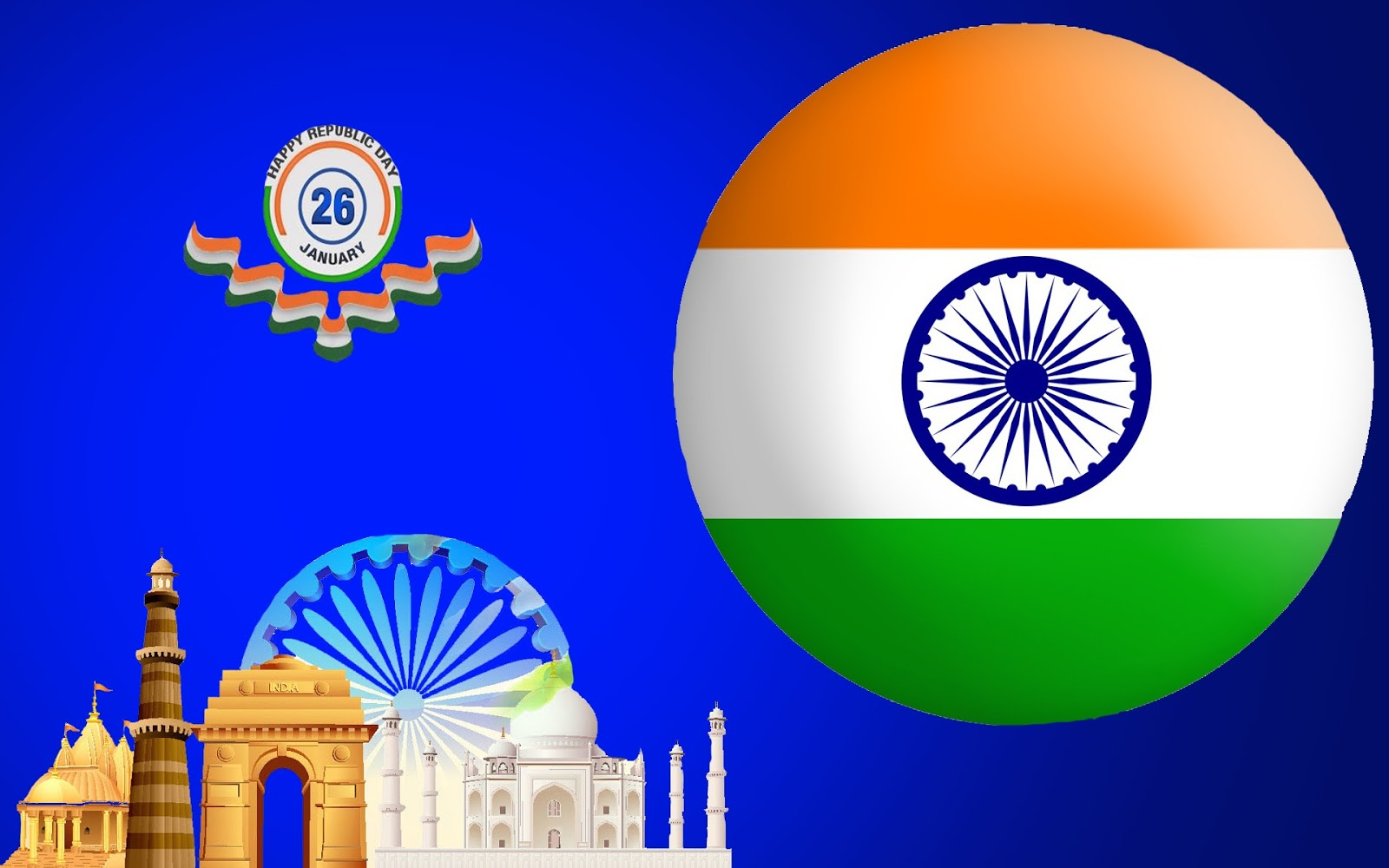 70th Republic Day 26 January Images ,Wallpapers 2019 | 26 ...