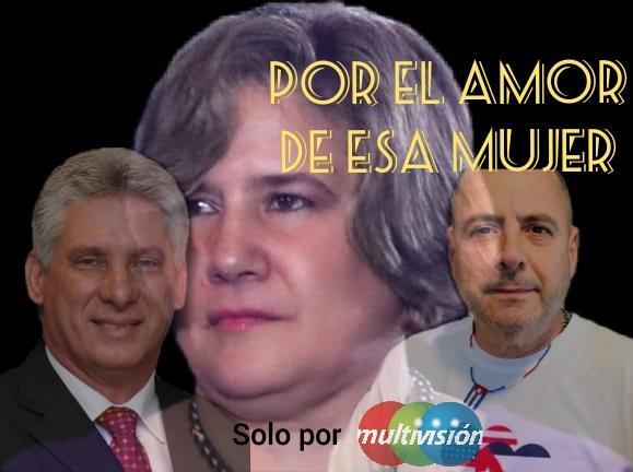 Carlos Lazo reta a un duelo a Díaz-Canel, por el amor de esa mujer.... Liz Cuesta