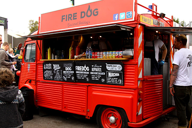street food w Edynburgu
