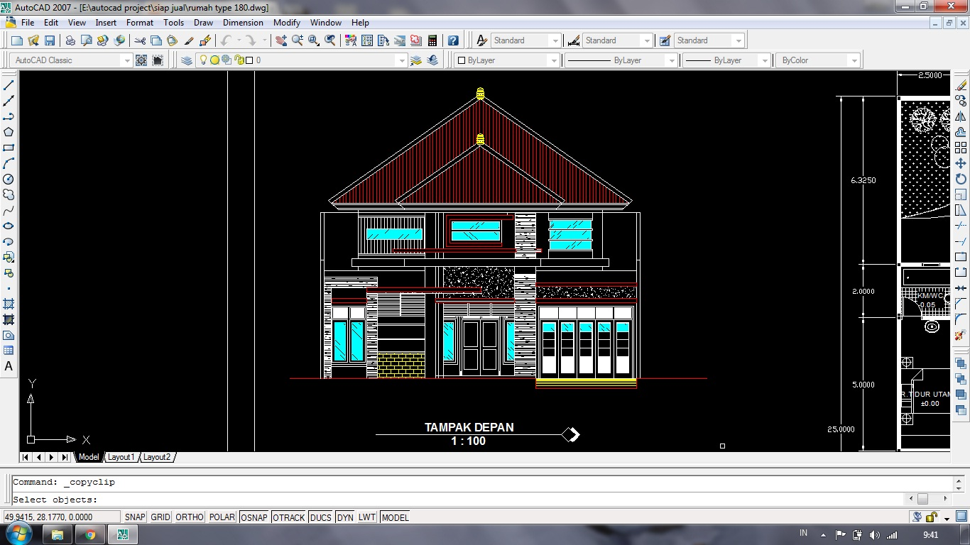 63 desain rumah minimalis dwg | desain rumah minimalis terbaru