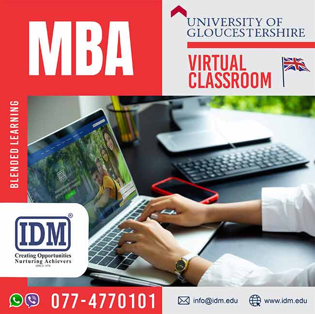 University of Gloucestershire | UK – MBA July 2020 Intake at IDM International.