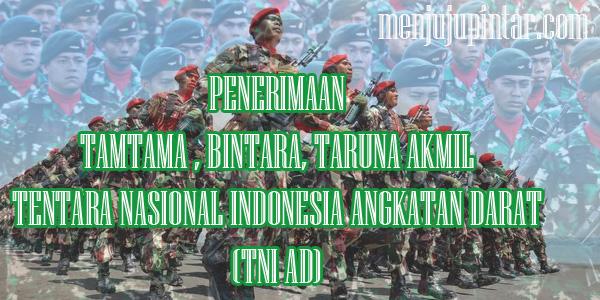Penerimaan Tamtama TNI AD