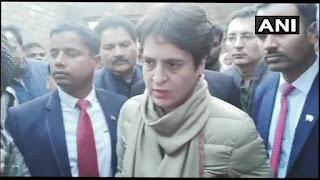 अचानक प्रियंका गांधी बिजनौर पहुंचीं, CAA पर बोलीं-