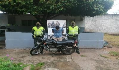 hoyennoticia.com,Lo pillaron en Caracolí-Cesar con una moto robada