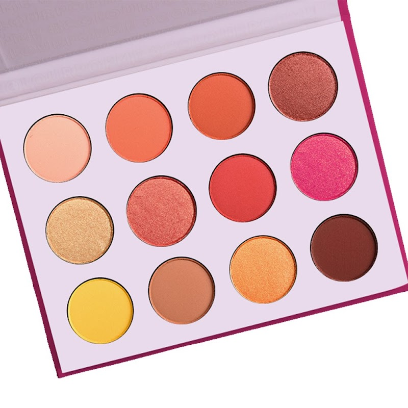 50%OFF Eyeshadow Palette Matte Shimmer 12 Colors