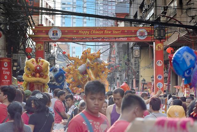PHOTOWALK: Celebrating Chinese New Year in Manila 2018