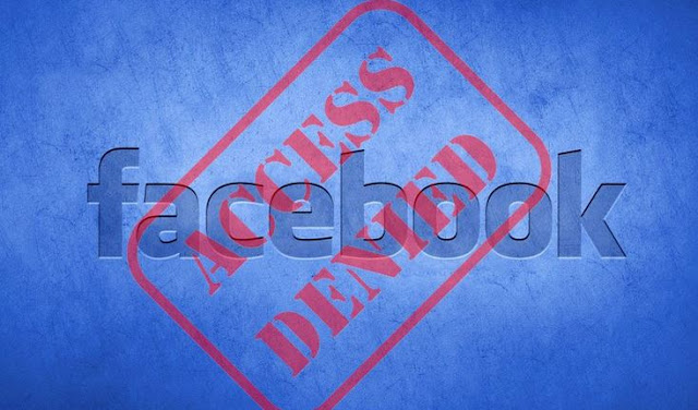 Facebook terblokir