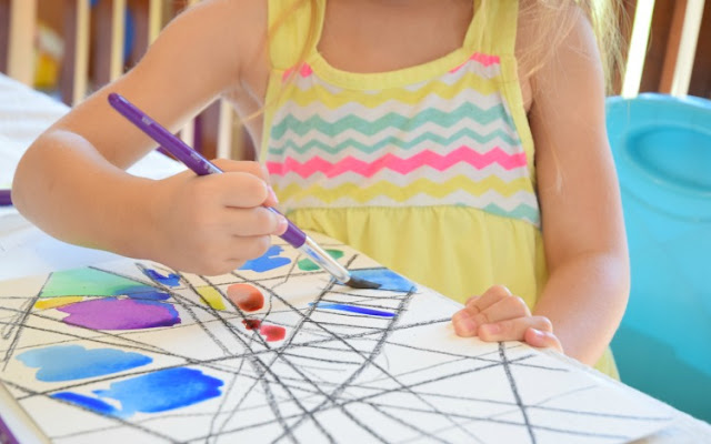 What My Four-Year-Old Does While We Homeschool. Struggling to keep younger children occupied during homeschooling? Here's what works for us! Includes academic learning, creative resources, and free play!