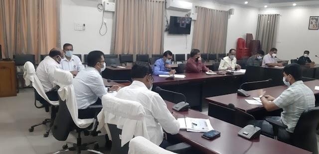 पूर्णिया जिला पदाधिकारी श्री राहुल कुमार ने कोविड-19 टास्क फोर्स की बैठक