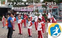 RPP PJOK Kurikulum 2013 Kelas 2 Semester 2 Revisi Terbaru