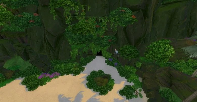 How to find the mermaid and merman grotto in The Sims 4: Island Living