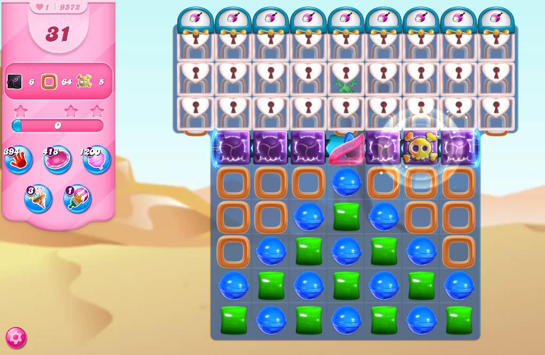 Candy Crush Saga level 9572