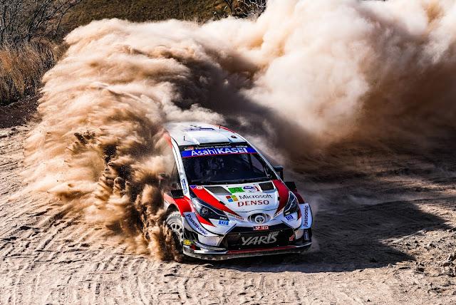 Elfyn Evans Mexico Rally