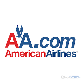 AA.com American Airlines Logo vector (.cdr)