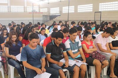 Imagens do Aulão do ENEM neste sábado em São Paulo do Potengi ...