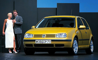 Retro Volkswagen Golf Photo | Fourth Generation