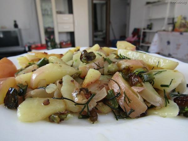 Cartofi noi cu ardei, mărar și usturoi verde: Rețetă de post, fără gluten