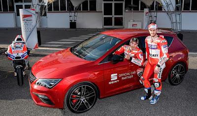 Το Leon Cupra θα είναι το επίσημο αυτοκίνητο της ομάδας της Ducati στο MotoGP