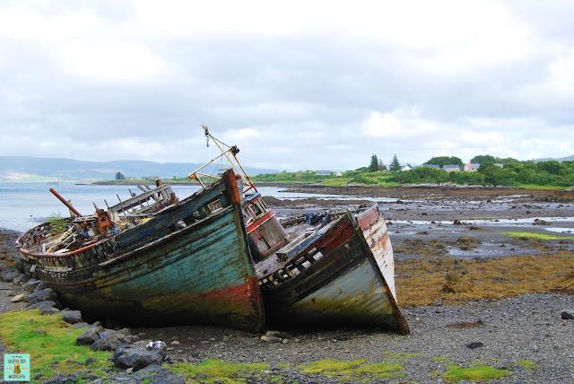 Carretera de Salen a Tobermory, isla de Mull