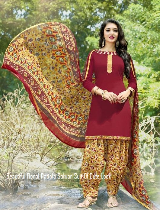 New Best Latest Stylish Beautiful Designer Punjabi Patiala Salwar