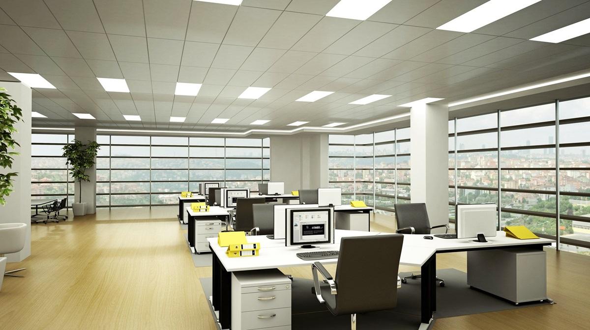 Bố trí ánh sáng nhân tạo văn phòng làm việc sao cho chuẩn?