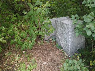 Изюм. Гора Кременец (Кремянец). Лишние бетонные блоки