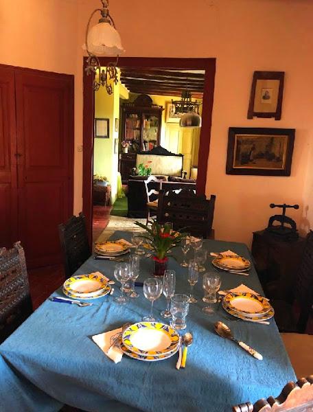 Interior de la casa de Mercè Palau i Baquero