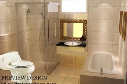 Design 3dmax kamar mandi utama mewah via online
