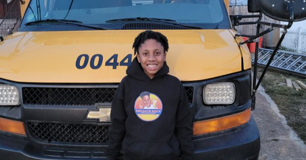 Micah Harrigan, 10-year old entrepreneur who bought a school bus