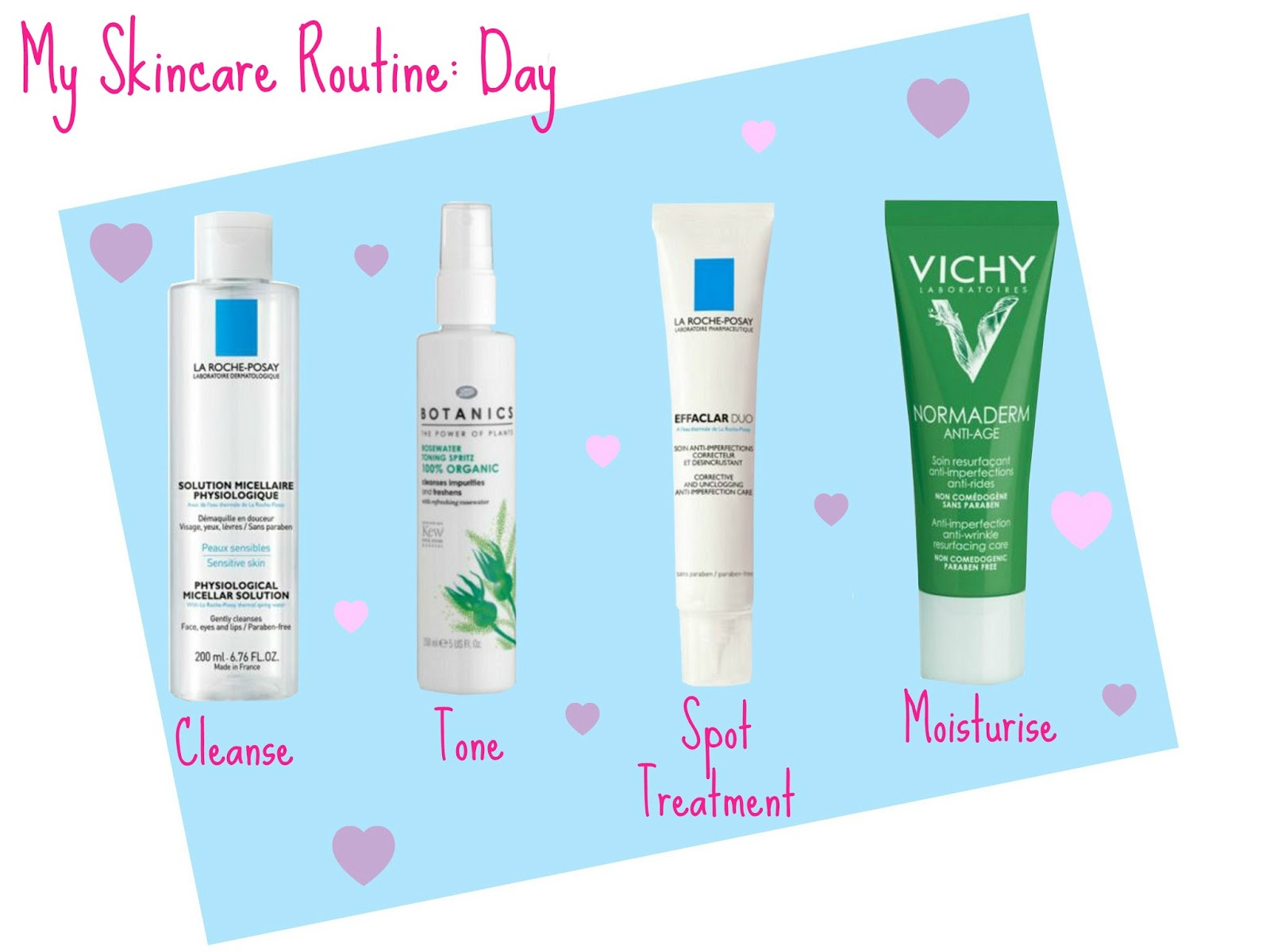 Sayers Style My Skincare Routine Day