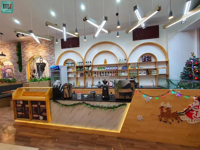 Trang trí quán cafe, trà sữa rẻ đẹp