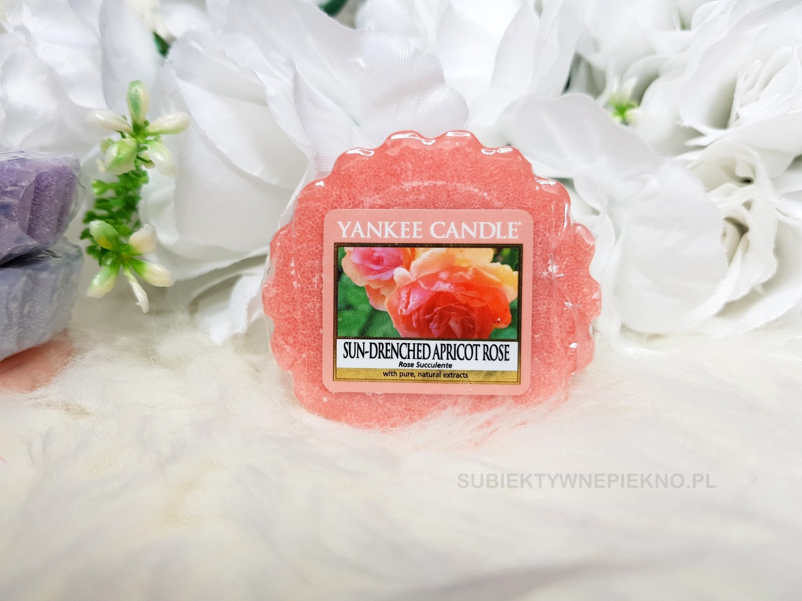 Sun-Drenched Apricot Rose Yankee Candle. Wiosenna kolekcja Q1 2018 Enjoy the Simple Things. Blog, opinie.