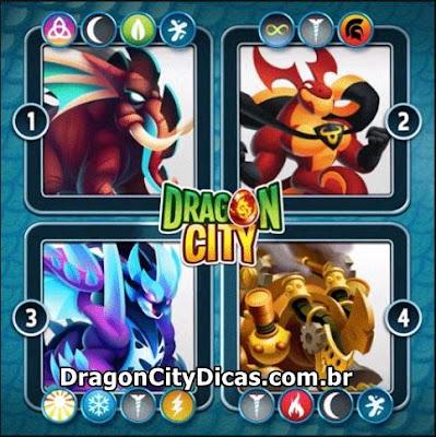 4 Novos Dragões Revelados!